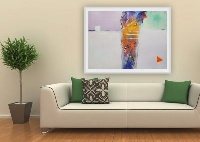 apstraktna slika_moderna umjetnost_ranko ajdinovic