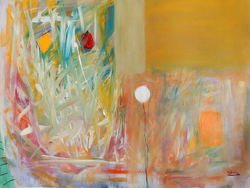 moderna apstraktna slika ajdinović