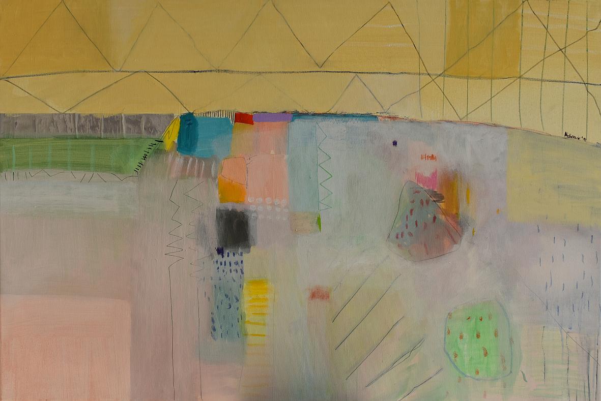 moderna slika na platnu ranka ajdinovića,apstraktna umjetnost,originalni veliki format 120 x 80cm (1)