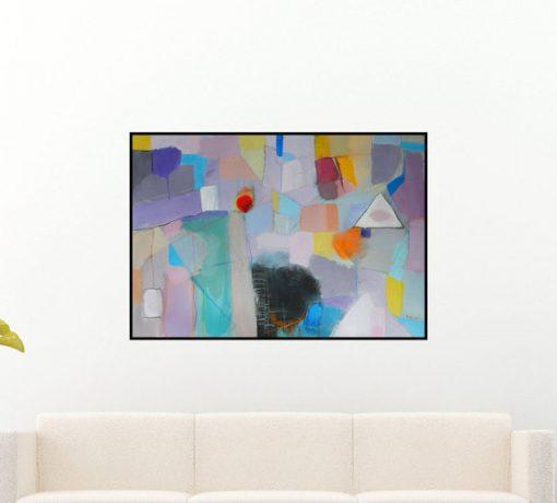 apstraktne slike, moderna umjetnost