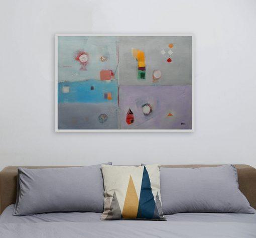 Moderna slika za spavaću sobu_apstraktna umjetnost_ranko ajdinovic (1)