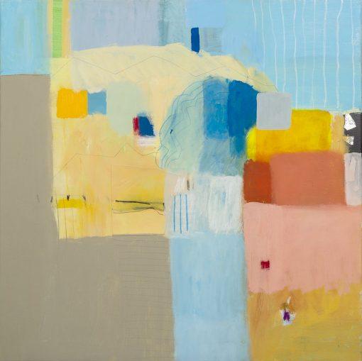Slika na platnu apstrakcija