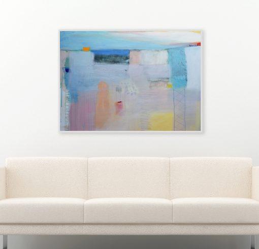 Umjetnička slika za dnevnu sobu_moderna umjetnost ajdinović