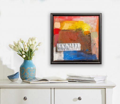 moderna slika za hodnik