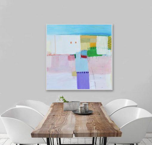 Moderna slika na platnu apstrakcija