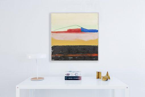 Moderna umjetnička slika na platnu za uređenje interijera, Kompozicija h1