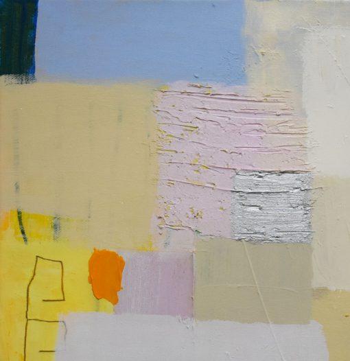 Mala apstraktna slika na platnu,moderna umjetnost za uređenje apartmana