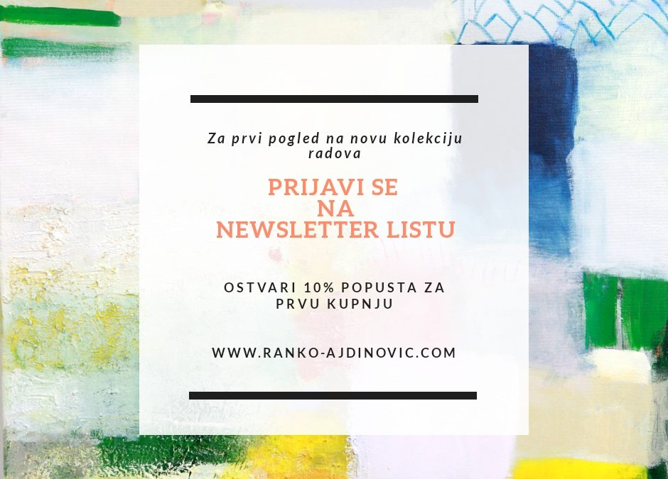 Uskoro nova kolekcija – Ajdinović Ranko newsletter
