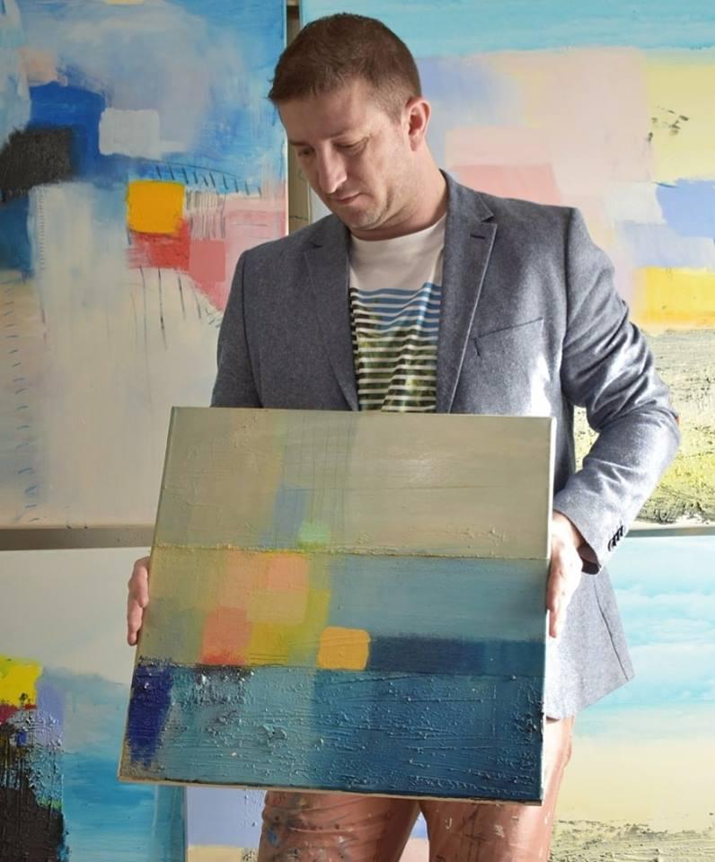Ajdinović Ranko moderni slikar iz hrvatske