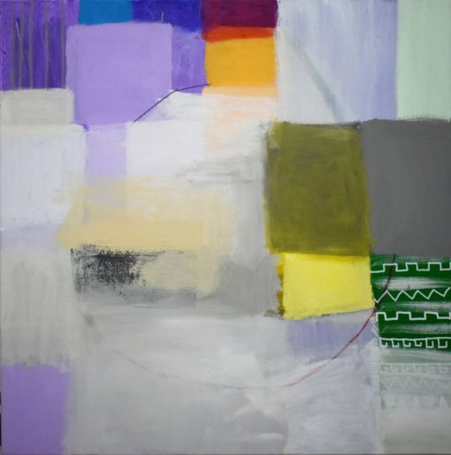 Umjetnička slika pejzaž na platnu Ajdinović