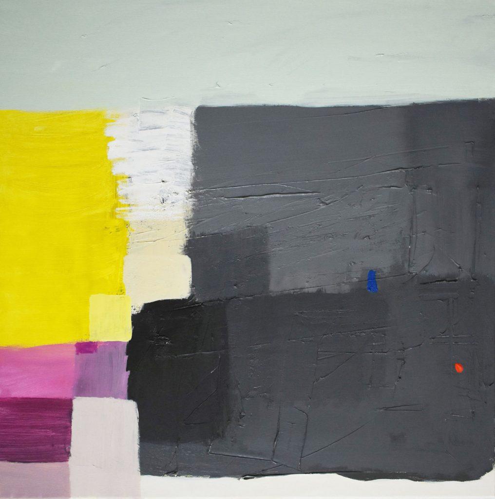 Moderna slika apstrakcija Ajdinović Ranko_Unutarnji pejzaž O7