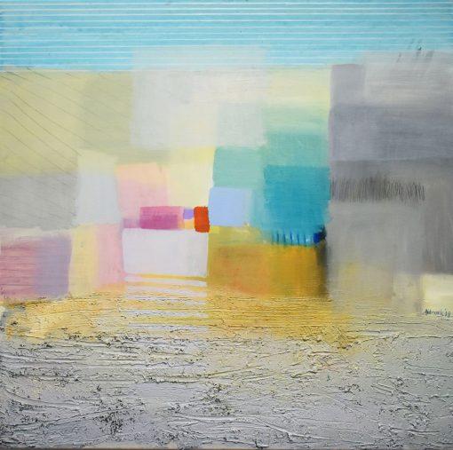 Uređenje interijera slikama - moderna umjetnost-unutarnji pejzaž O 4-Ajdinović Ranko (1)1