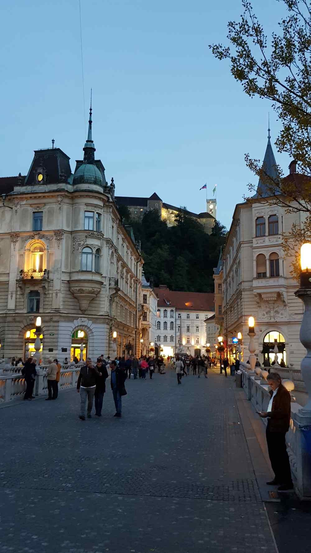 Ljubljana noću