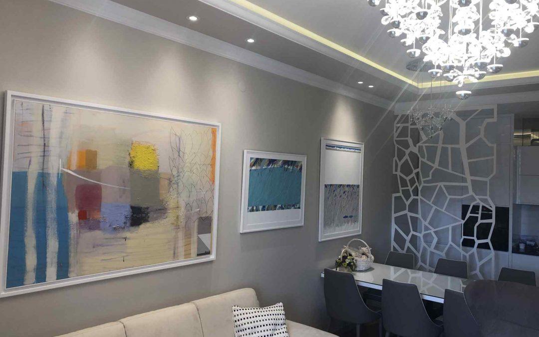 Moderne slike u Podgorici velikog formata u novom domu