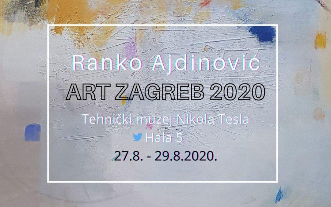 Art zagreb 2020 Ajdinović Ranko