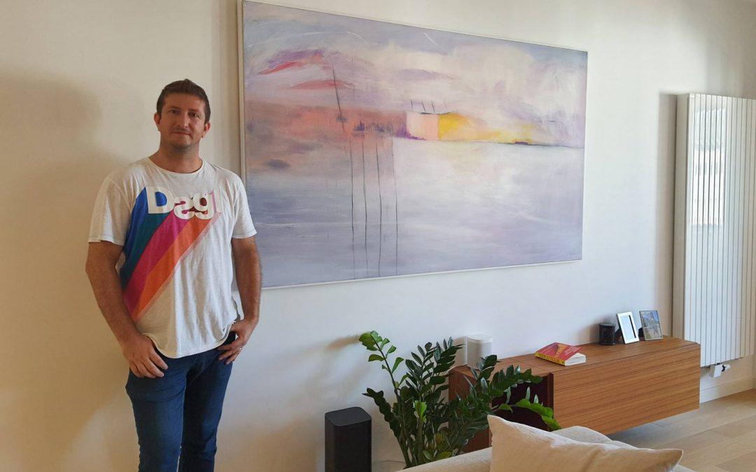 Moderne slike u Zagrebu velika apstrakcija Buđenje