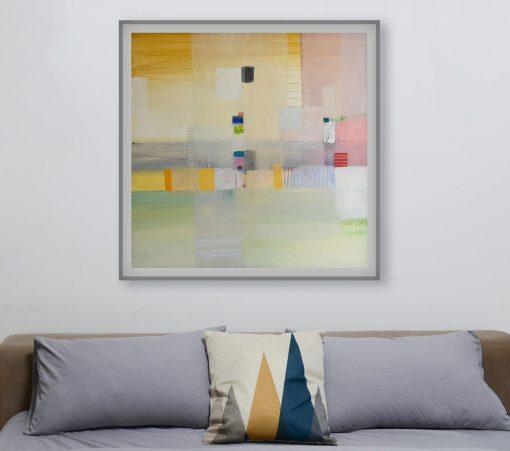 Serigrafije na platnu i papiru apstraktne slike, grafike za moderni interijer