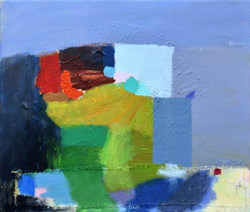 Ajdinović Ranko moderna apstrakcija živih boja