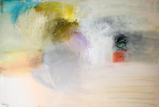 Umjetnička slika Novi svijet 6 moderna apstrakcija slikara Ajdinović Ranka