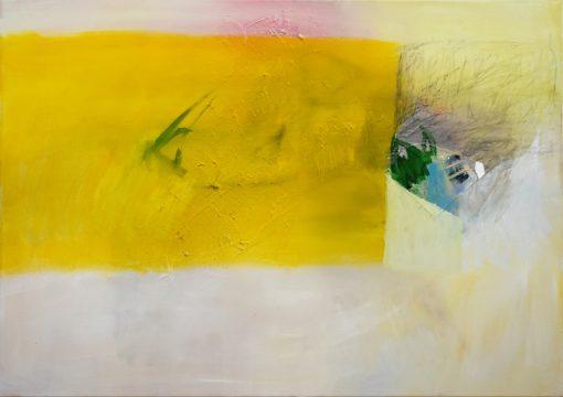 Žuta slika na platnu Ajdinović